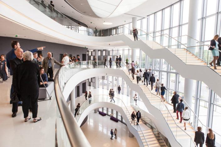 Fotografia architektury - centrum kongresowe w Krakowie