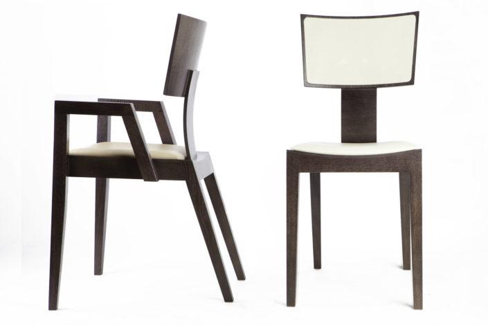 krzesła i szafy dla PAGED Meble